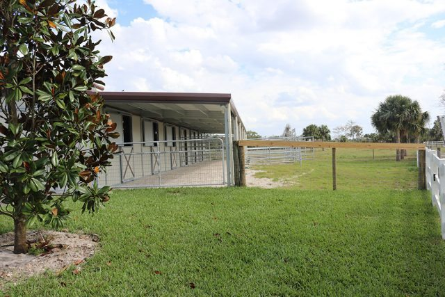 Horse Stall Fronts Amp Pens Md Building Systems Of Florida