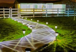 Shed-Row Barns - Shed-Row Barn with Lighted Walkway